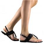 Sandália Zariff Shoes Rasteira Tressê 4950-03   Betisa