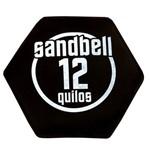 Sandbell 12KG para Treinamento Funcional Neoprene Preto Acte