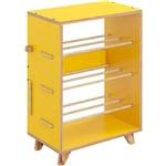 Sapateira Cordel – Be Mobiliário - Amarelo