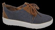 Sapatênis Feminino Flatform Dakota B8471 Jeans   Dtalhe