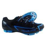 Sapatilha Ciclismo Absolute Mtb Nero Preto e Azul