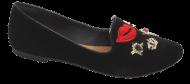 Sapatilha Feminina Dakota B8571 Sliper Enfeite | Dtalhe Calçado