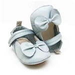Sapatilha para Bebê Alicia - Azul Céu