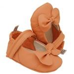 Sapatilha para Bebê Alicia - Tangerina