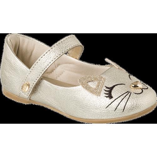Sapatilha Princess Baby Dourada - 17