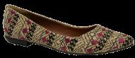 Sapatilha Tanara N6724 Bico Fino   Dtalhe Calçados