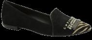Sapatilha Tanara N6725 Preta | Dtalhe Calçados
