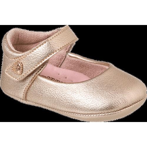 Sapato Algodão Doce Ouro Rosa - 17