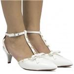 Sapato de Noivas Zariff Shoes Chanel Laço 1542285 | Betisa