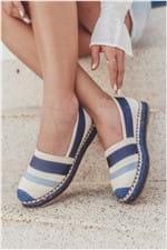 Sapato Feminino Espadrille Maevy Mundial TEC - AZUL 36