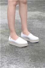 Sapato Feminino Espadrille Rudye Vizzano SINT - BRANCO Sapato Feminino Espadrille Rudye Mundial SINT - BRANCO 35