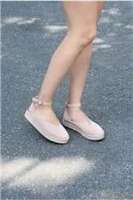 Sapato Feminino Espadrille Thaemy Mundial TEC - NUDE 38