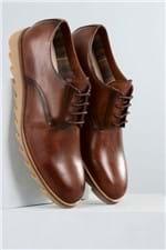 Sapato Masculino Moisés Mundial CR - CAFE 43