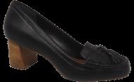Sapato Mocassim Cristófoli 215682 Preto | Dtalhe Calçados