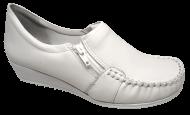 Sapato Numeração Especial Feminino Branco Comfortflex 1793403