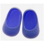 Sapato para Boneca – Modelo Sapatilha 6cm – Baby Alive - Azul Marinho – Laço de Fita