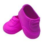Sapato para Boneca – Modelo Tênis 8cm – Adora Doll - Pink – Laço de Fita