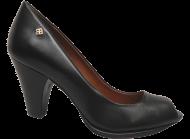 Sapato Peep Toe Cristófoli 151051 Preto   Dtalhe Calçados