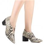 Sapato Zariff Scarpin em Corte V | Betisa