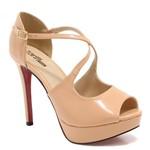 Sapato Zariff Shoes Peep Toe Numeração Grande 74214 | Betisa