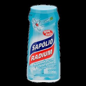 Saponáceo com Detergente Sapólio Radium Multissuperfícies Cloro 300g