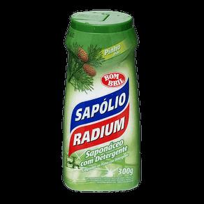 Saponáceo com Detergente Sapólio Radium Pinho 300g