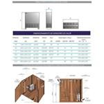 Sauna Seca Universal 7,5 Kw Até 15m³ Residencial Sodramar