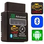 Scanner Diagnostico Veicular Carro Obd2 Hh Android Bluetooth