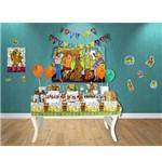 Scooby Doo Toalha Plástica - Festcolor
