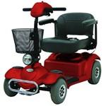 Scooter Freedom Mirage Rx Prata/Vinho (Cód. 794-7599)