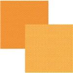 Scrap Basico Laranja Poa KFSB074 - Toke e Crie