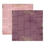 Scrap Basico Vintage Lilas Jornal KFSB169 - Toke e Crie By Flavia Terzi