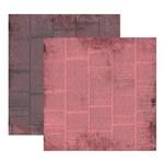 Scrap Basico Vintage Rose Jornal Kfsb193 Toke e Crie