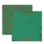 Scrap Basico Vintage Verde Poa Kfsb186 Toke e Crie