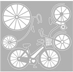 Scrap Embelezadores Cardboard Litoarte Scep-009 Aplique Bicicletas