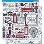 Scrapbook Folha Dupla Face London Sd-361 - Litoarte