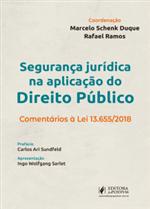 Segurança Jurídica na Aplicação do Direito Público (2019)