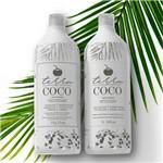 Selagem Terra Coco Selante Creme Escova Progressiva Sem Formol 1kg + Shampoo de Coco 1 Litro
