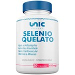 Selenio Quelato 400mcg 30 Caps Unicpharma