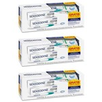 Sensodyne Extra Fresh Creme Dental 2x50g + Escova Dental 2x50g (kit C/03)