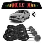 Sensor de Estacionamento Ré Fiat Cronos 2018 Cinza Scandium
