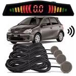 Sensor de Estacionamento Ré Toyota Etios Cinza Cosmopolita