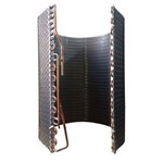 Serpentina Cobre Condensador Ar Condicionado Split Midea Springer 12 18 Btus 49cm