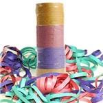 Serpentina de Papel Colorido - 12 Unidades