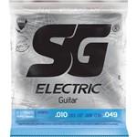 Sg - Encordoamento para Guitarra .010 .049 Niquel Hibrido