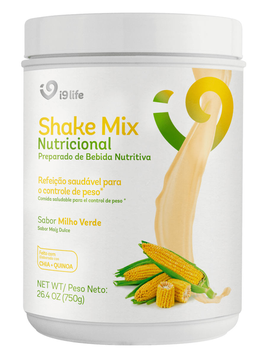 Shake Mix I9life Milho Verde 011