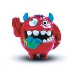 Shakeheadz - Monstrinho Maluco Rick Ranço Vermelho Dtc