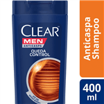 Shampoo Clear Men Queda Control 400ml