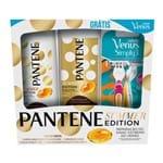 Shampoo + Condicionador Pantene Summer Edition Restauração Grátis Gillette Venus Simply (Shampoo 400ml; Condicionador 175ml)