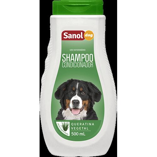 Shampoo e Condicionador Sanol Dog Grande Porte para Cães e Gatos 500ml